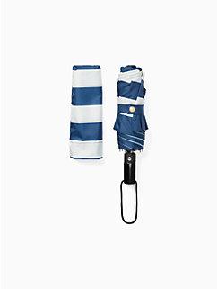 off we go jubilee stripe travel umbrella by kate spade new york