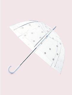 clear dot umbrella by kate spade new york