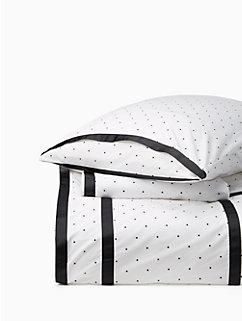 dot frame comforter set by kate spade new york