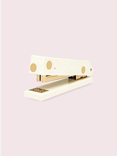 strike gold dot stapler by kate spade new york
