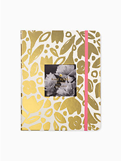 golden floral large planner - august 2018-august 2019 by kate spade new york