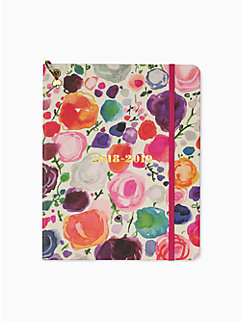 floral large planner - august 2018-august 2019 by kate spade new york