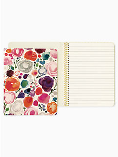 floral concealed spiral notebook by kate spade new york