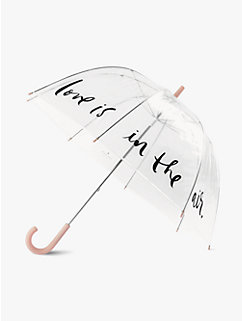 Love Is In The Air Clear Umbrella by kate spade new york
