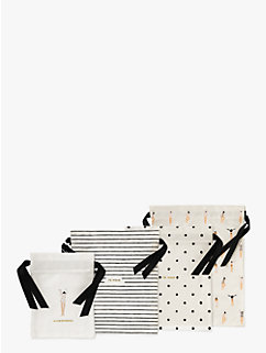 Getting Dressed Travel Bag Set by kate spade new york