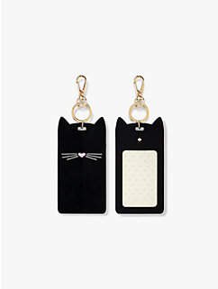 cat i.d. clip by kate spade new york