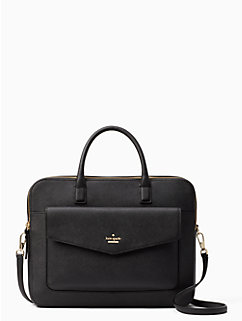 "13"" double zip laptop bag by kate spade new york"