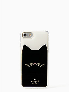 cat hands free iphone 7 & 8 case by kate spade new york
