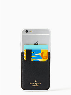 triple sticker iphone pocket by kate spade new york