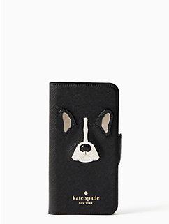 antoine applique iphone 7 & 8 folio case by kate spade new york