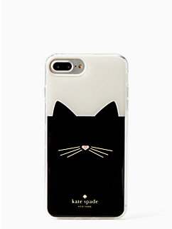 cat hands free iphone 7 & 8 plus case by kate spade new york