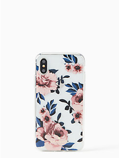 jeweled prairie rose iPhone x case by kate spade new york