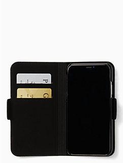 antoine iPhone x folio case by kate spade new york