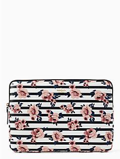 rose stripe universal laptop sleeve by kate spade new york