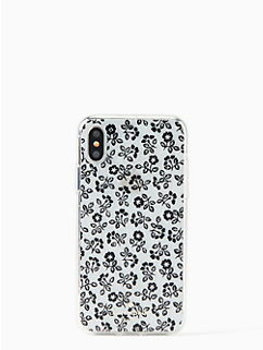 jeweled plains iPhone x case by kate spade new york