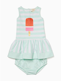 infant ice pop stripe dress by kate spade new york