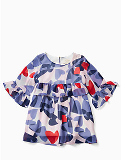 infant confetti hearts dress by kate spade new york