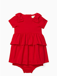 infant peplum waist dress by kate spade new york