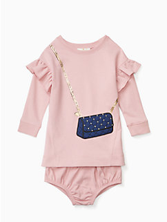 infant quilted handbag dress by kate spade new york