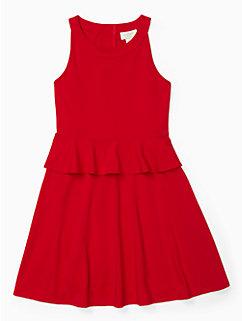girls peplum waist dress by kate spade new york