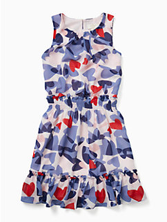 girls confetti hearts dress by kate spade new york