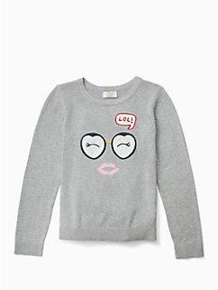 girls lol sweater by kate spade new york