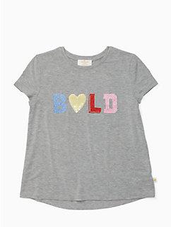 girls bold tee by kate spade new york