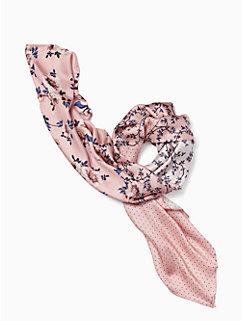 prairie rose patchwork silk square scarf by kate spade new york