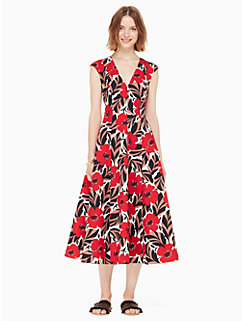 poppy field structured dress by kate spade new york