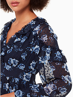 prairie rose clip midi dress by kate spade new york