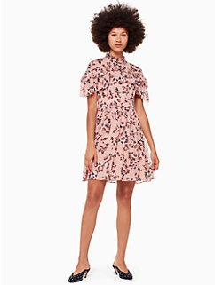 prairie rose clip mini dress by kate spade new york