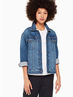 oversized denim jacket by kate spade new york