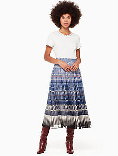 deco beale skirt by kate spade new york