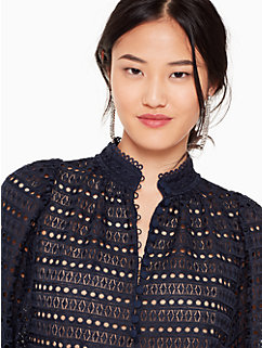 lace cris top by kate spade new york