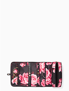 classic nylon jewelry roll by kate spade new york