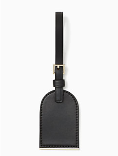 watson lane leather luggage tag by kate spade new york