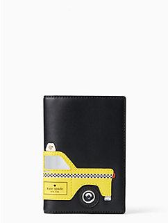 nouveau york taxi passport holder by kate spade new york
