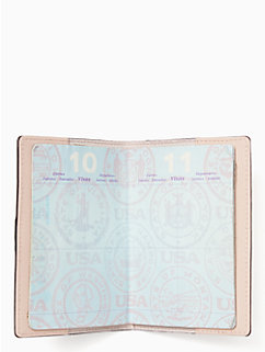 by the pool flamingo passport holder by kate spade new york