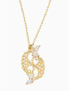 celestial charm pisces pendant by kate spade new york