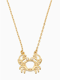 celestial charm cancer pendant by kate spade new york